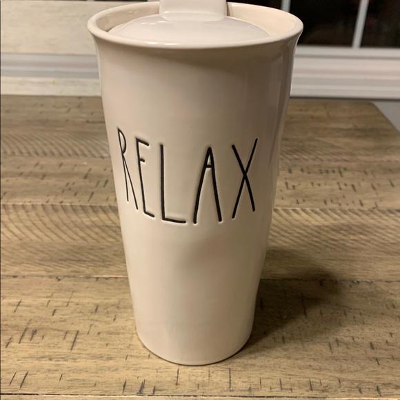 Rae Dunn to-go coffee mug